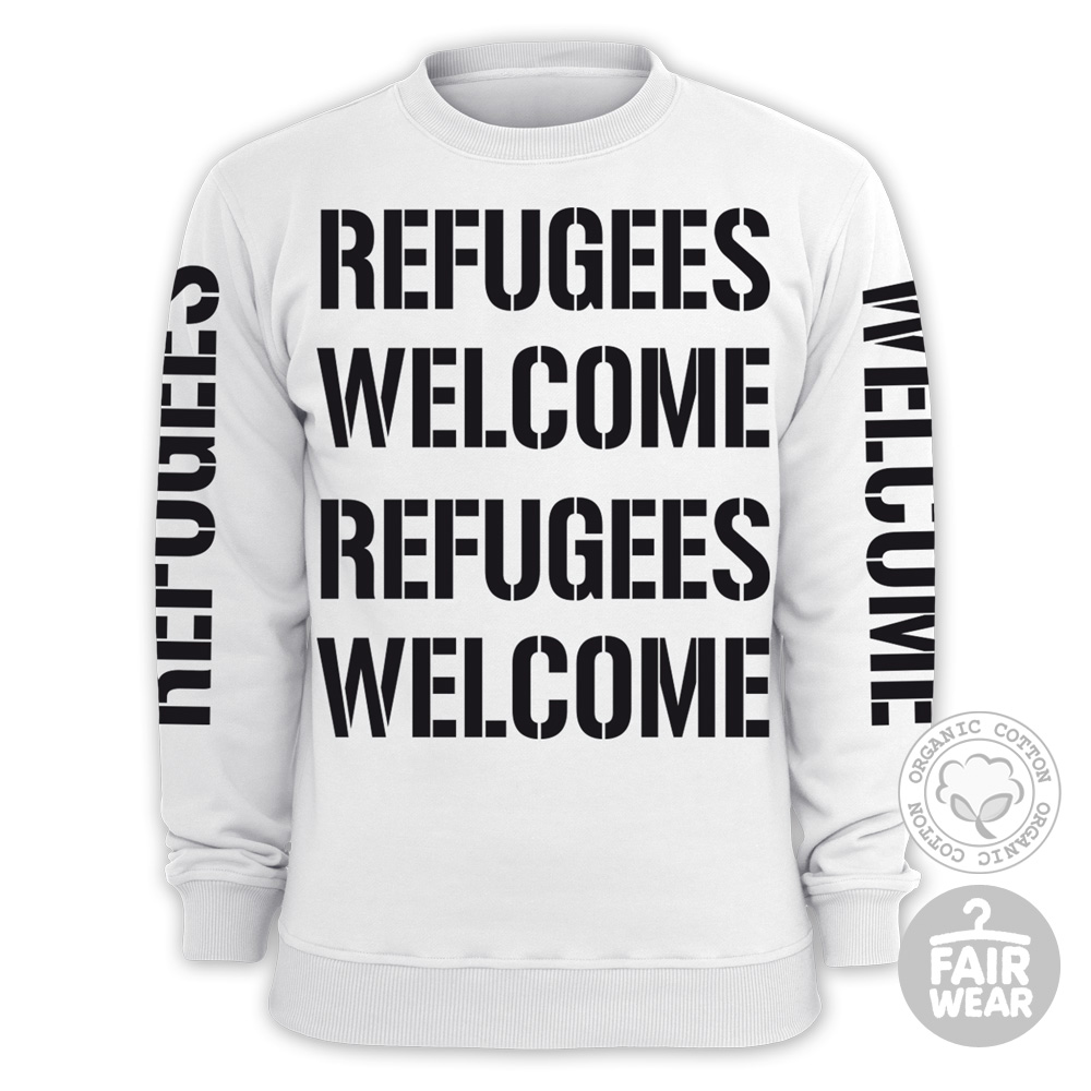 Refugees Welcome Sweater