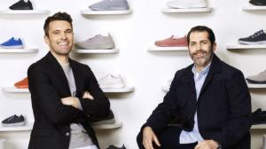Tim Brown, left, and Joey Zwillinger from Allbirds